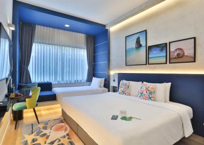 Deluxe Family Room - Hotel Clover Patong Phuket